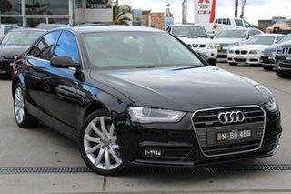 Used Audi A4 S tronic quattro, 2013 Audi A4 S tronic quattro B8 8K MY13 Sedan