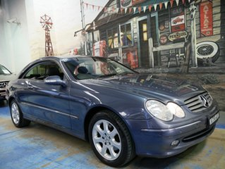 Used Mercedes-Benz CLK320 Elegance, Marrickville, 2004 Mercedes-Benz CLK320 Elegance C209 Coupe