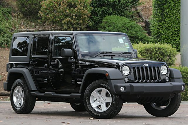 Discounted New Jeep Wrangler Unlimited Sport, Southport, 2016 Jeep Wrangler Unlimited Sport SUV