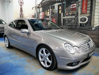 Used Mercedes-Benz C180 Kompressor Super Sport, Marrickville, 2007 Mercedes-Benz C180 Kompressor Super Sport CL203 MY07 Coupe