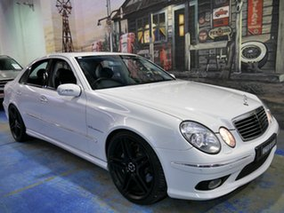 Used Mercedes-Benz E55 AMG, Marrickville, 2004 Mercedes-Benz E55 AMG W211 Sedan