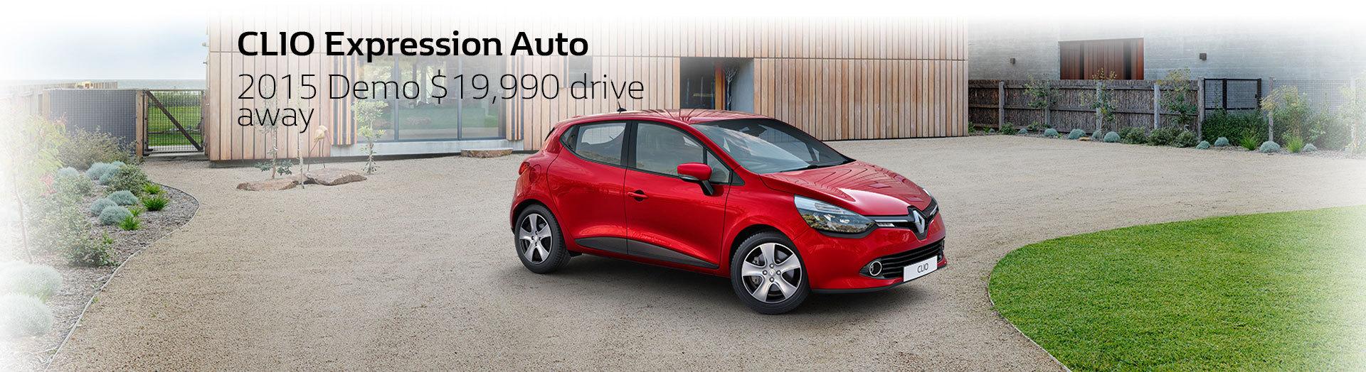 CLIO Expression Auto Demo $19,990