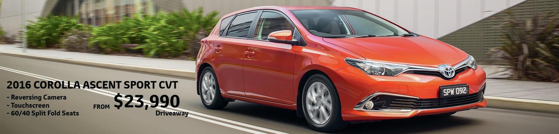 Mildura Toyota | Corolla