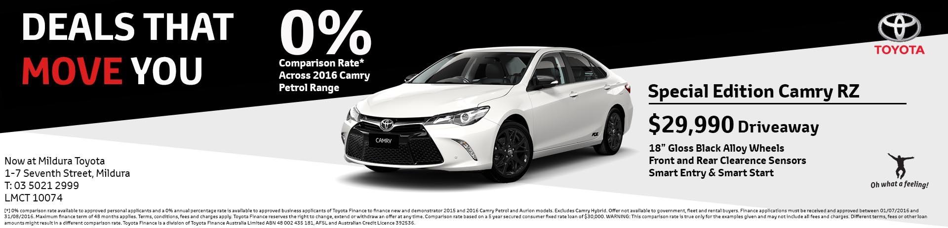 Mildura Toyota | Camry