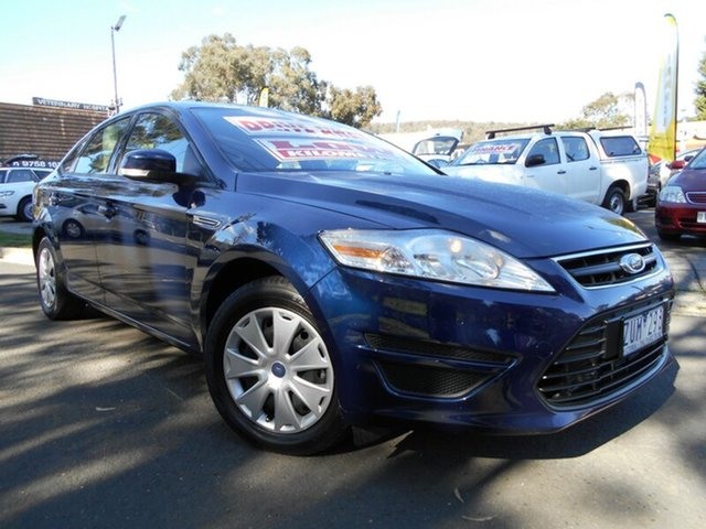 Used Ford Mondeo LX Tdci, Upper Ferntree Gully, 2013 Ford Mondeo LX Tdci Hatchback
