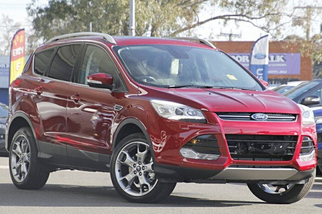 Discounted Demonstrator, Demo, Near New Ford Kuga Titanium AWD, Narellan, 2016 Ford Kuga Titanium AWD SUV