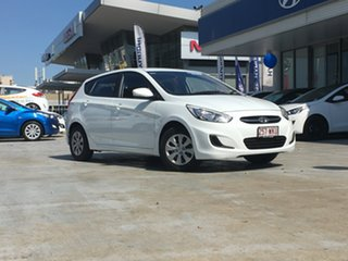 Discounted Demonstrator, Demo, Near New Hyundai Accent Active, Windsor, 2016 Hyundai Accent Active RB4 MY16 Hatchback