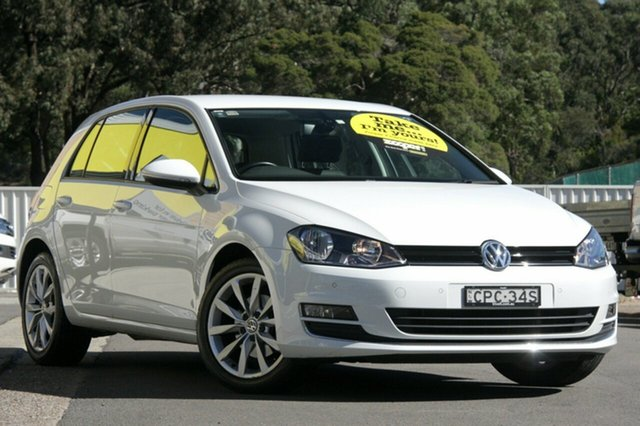 Used Volkswagen Golf 110TDI DSG Highline, Cardiff, 2013 Volkswagen Golf 110TDI DSG Highline Hatchback