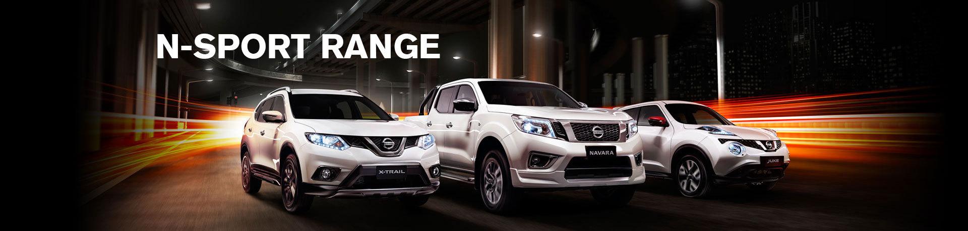Nissan N-sport Range