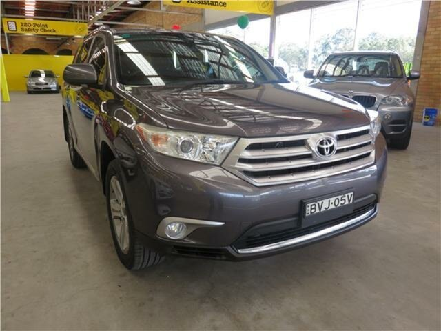 Used Toyota Kluger KX-S AWD, Cardiff, 2011 Toyota Kluger KX-S AWD Wagon