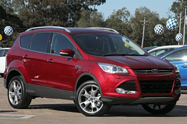 Discounted Demonstrator, Demo, Near New Ford Kuga Titanium AWD, Warwick Farm, 2016 Ford Kuga Titanium AWD SUV