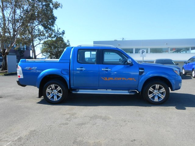 Used Ford Ranger Wildtrak Crew Cab, Nowra, 2010 Ford Ranger Wildtrak Crew Cab PK Dual Cab