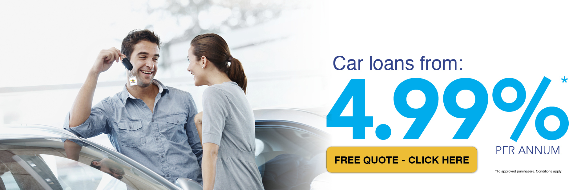 Free Finance Quote - Apply, Approved and Drive Away