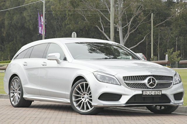 Used Mercedes-Benz CLS250D d Shooting Brake 7G-Tronic +, Warwick Farm, 2015 Mercedes-Benz CLS250D d Shooting Brake 7G-Tronic + Wagon