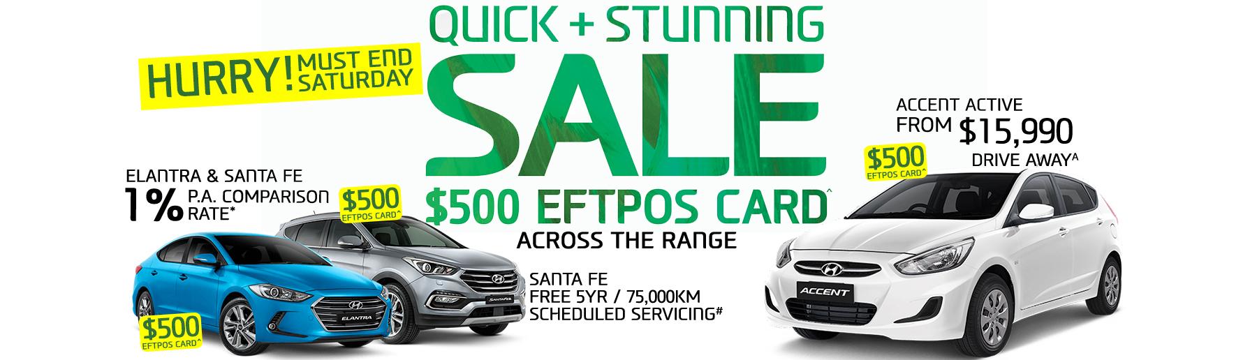 Yarra Hyundai 3 Day Sale