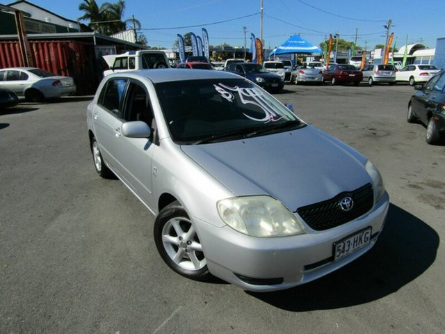 Used Toyota Corolla Conquest, Moorooka, 2003 Toyota Corolla Conquest ZZE122R Hatchback