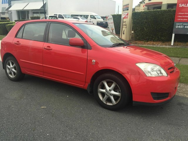 Used Toyota Corolla Ascent Sport, Burleigh Heads, 2006 Toyota Corolla Ascent Sport ZZE122R 5Y Hatchback