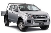 D-MAX 4x2 Crew Cab Chassis SX
