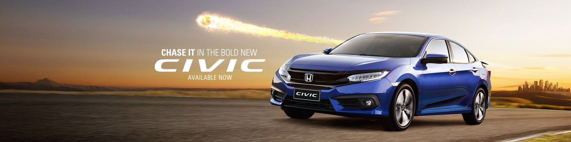 Bold New Honda Civic, Available Now