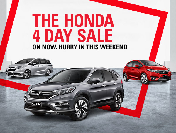 Honda Home Page Banner