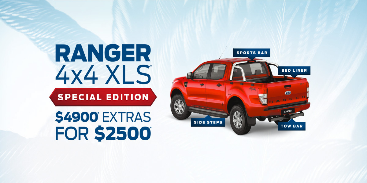 Ranger 4X4 XLS Special Edition $4900 Extras For $2500