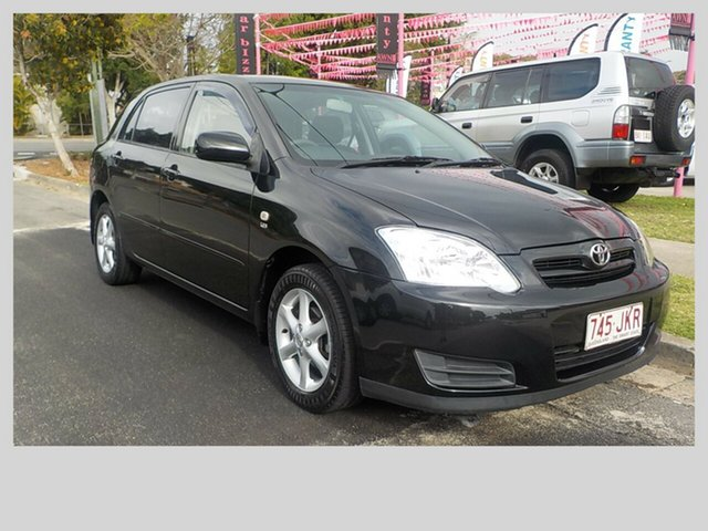 Used Toyota Corolla Ascent Sport, Margate, 2004 Toyota Corolla Ascent Sport Hatchback