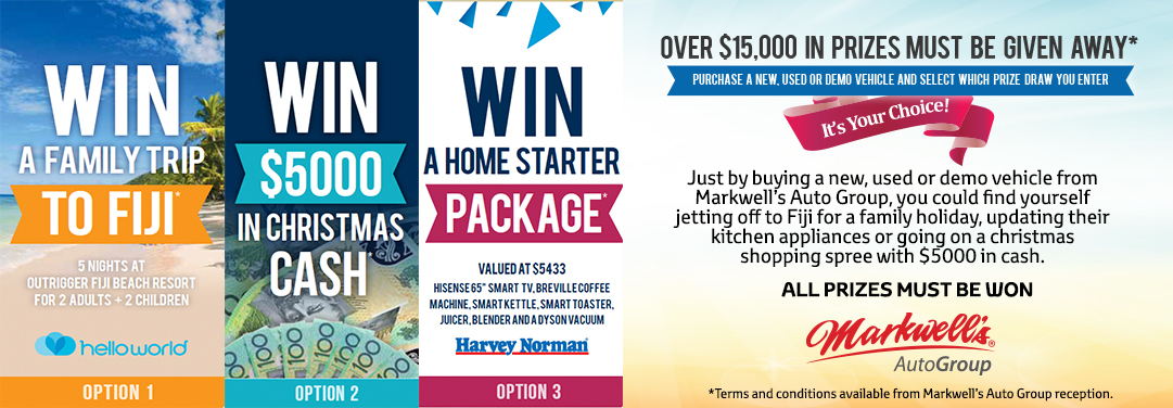 Markwell's Auto Group | Giveaway