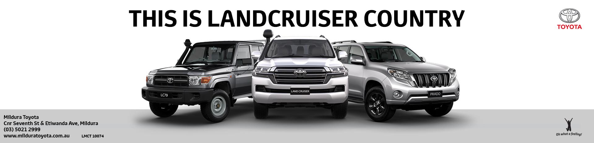 Mildura Toyota | Landcruiser
