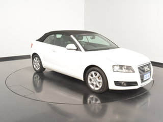 Used Audi A3 TFSI S tronic Attraction, Victoria Park, 2009 Audi A3 TFSI S tronic Attraction Convertible.