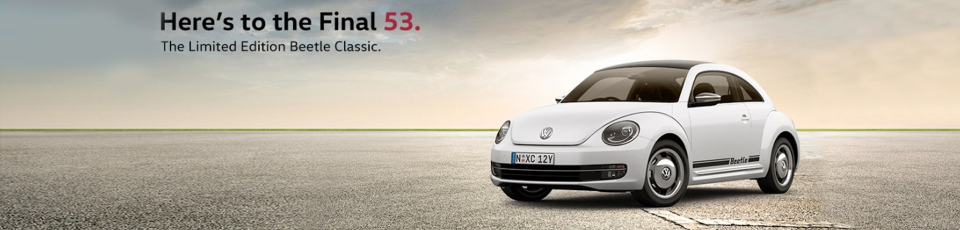 Limited Edition Volkswagen Beetle Classic