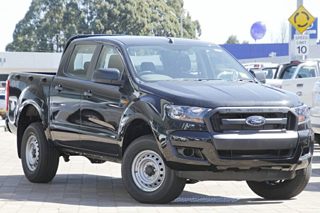 Discounted Demonstrator, Demo, Near New Ford Ranger XL Double Cab, Warwick Farm, 2016 Ford Ranger XL Double Cab Utility
