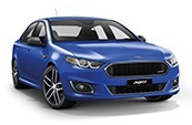 New Ford Falcon FG X, Peter Warren Ford, Warwick Farm