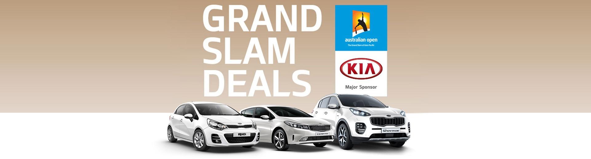 Kia National Offer - Grand Slam Deals