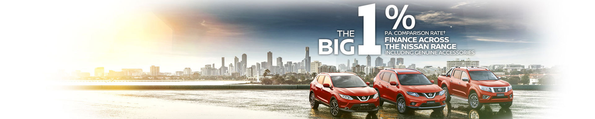 The Big 1% Comparisson Rate Finance Across The Nissan Range