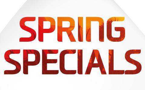 Spring Specials Offer
