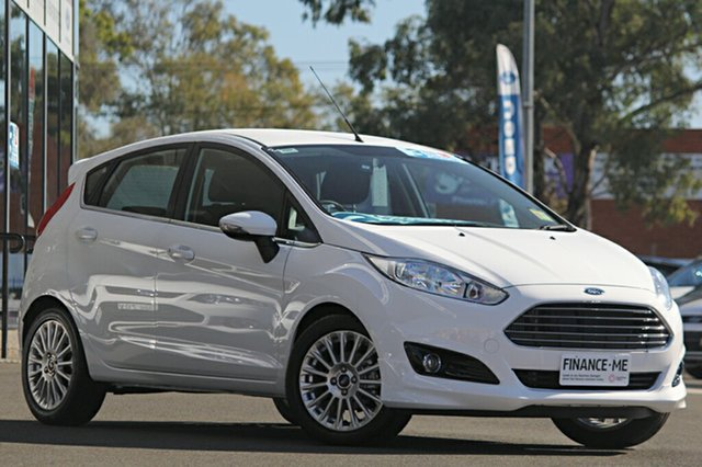 Demonstrator, Demo, Near New Ford Fiesta Sport PwrShift, Narellan, 2016 Ford Fiesta Sport PwrShift Hatchback