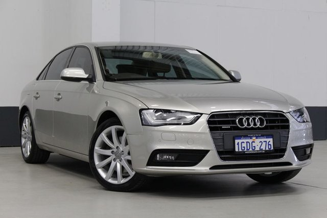 Used Audi A4 2.0 TFSI Quattro, Bentley, 2013 Audi A4 2.0 TFSI Quattro Sedan