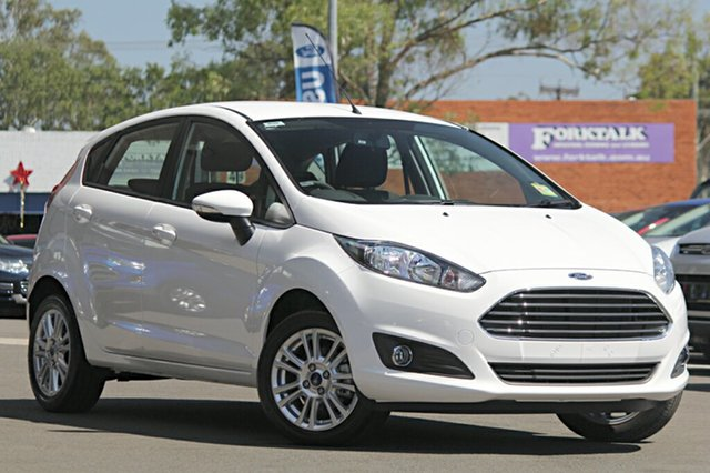 Demonstrator, Demo, Near New Ford Fiesta Trend PwrShift, Narellan, 2016 Ford Fiesta Trend PwrShift Hatchback