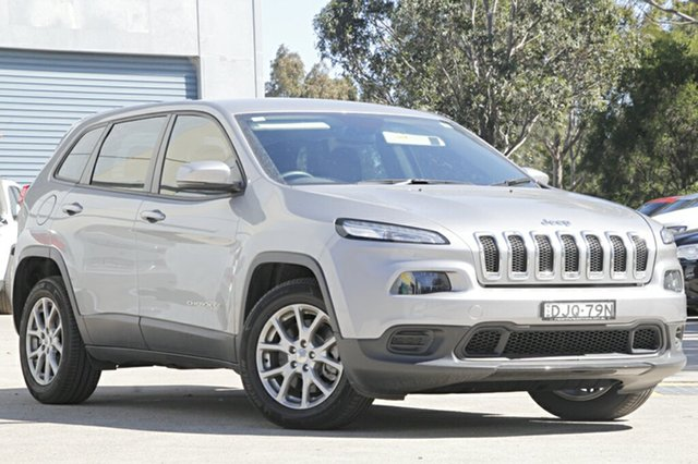 Discounted Demonstrator, Demo, Near New Jeep Cherokee Sport, Narellan, 2015 Jeep Cherokee Sport Wagon