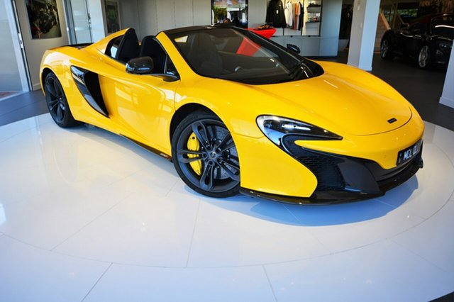 Demonstrator, Demo, Near New McLaren 650S Spider SSG, Southport, 2016 McLaren 650S Spider SSG Convertible