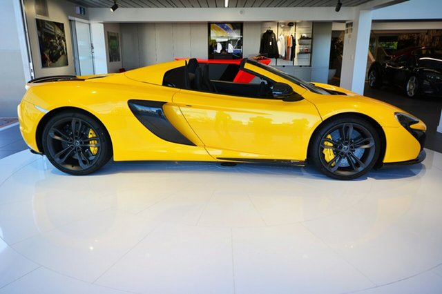 Discounted Demonstrator, Demo, Near New McLaren 650S Spider SSG, Narellan, 2016 McLaren 650S Spider SSG Convertible