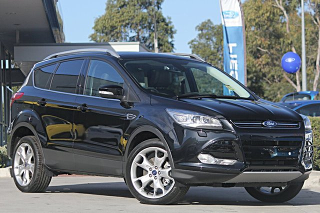 Discounted Demonstrator, Demo, Near New Ford Kuga Titanium PwrShift AWD, Narellan, 2016 Ford Kuga Titanium PwrShift AWD Wagon