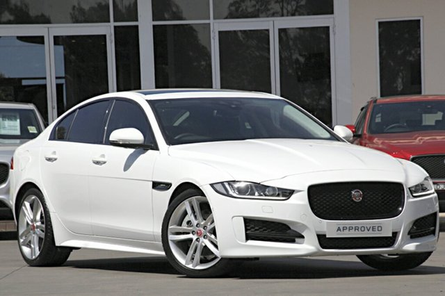 Demonstrator, Demo, Near New Jaguar XE 20T R-Sport, Narellan, 2016 Jaguar XE 20T R-Sport Sedan
