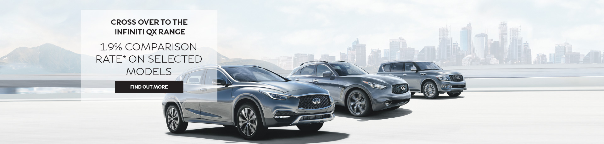 Infiniti - National Offer - 1.9% comparison rate