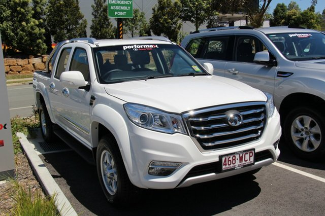Demonstrator, Demo, Near New Great Wall Steed (4x4), North Lakes, 2016 Great Wall Steed (4x4) Dual Cab Utility