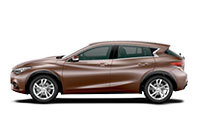 New Infiniti Q30, Peter Warren Infiniti, Warwick Farm