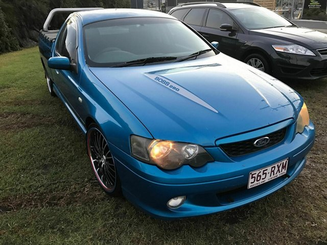 Used Ford Falcon XR8 Ute Super Cab, Burleigh Heads, 2003 Ford Falcon XR8 Ute Super Cab BA Utility