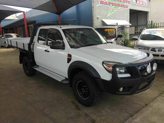 Discounted Used Ford Ranger XL (4x4), Toowoomba, 2010 Ford Ranger XL (4x4) Super Cab Chassis