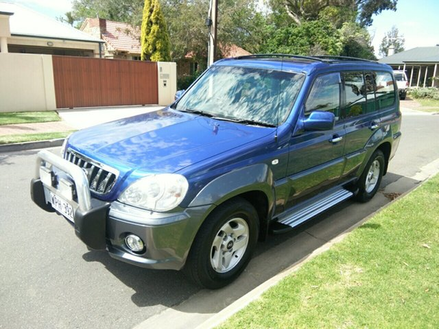Used Hyundai Terracan Highlander, Somerton Park, 2002 Hyundai Terracan Highlander Wagon