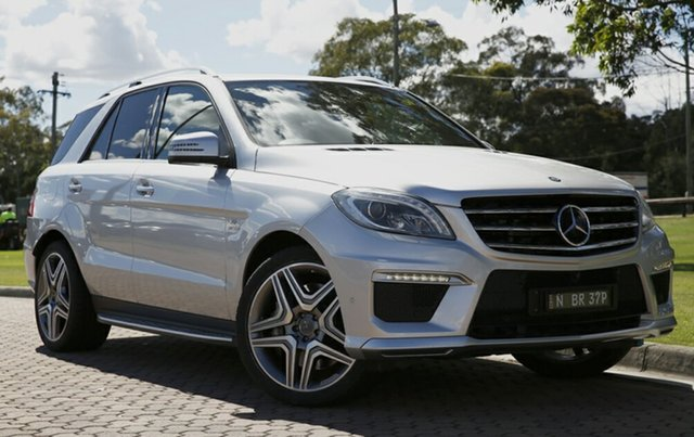 Used Mercedes-Benz ML63 AMG SPEEDSHIFT DCT, Warwick Farm, 2013 Mercedes-Benz ML63 AMG SPEEDSHIFT DCT SUV
